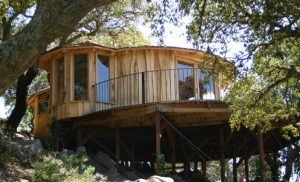 The Tarifa Ecolodge, built and designed by Blue Forest,  is highly insulated to withstand the harsh environment.
