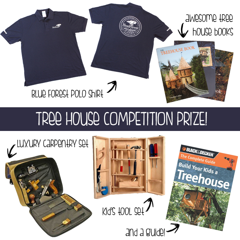 Blue Forest Tree House Prize
