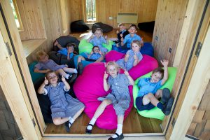 Hazelwood School Treehouse, built and designed by Blue Forest, is a flexible and fun learning environment.