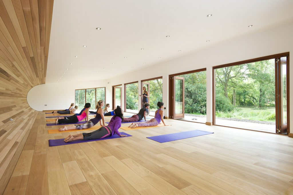Peaceful Yoga Studio By Blue Forest (2)