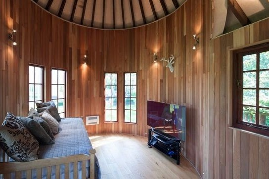The multi-purpose play room in Treetop Tower, built and designed by Blue Forest