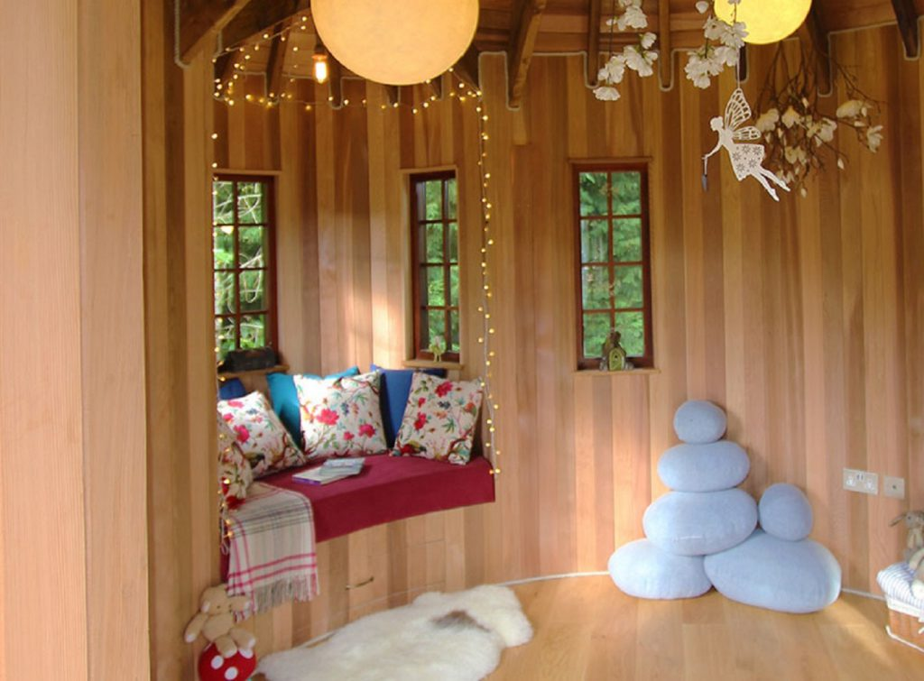 Interior Design Ideas For Kid S Treehouses Blue Forest