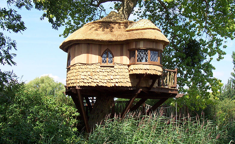 Amberley Castle Treehouse