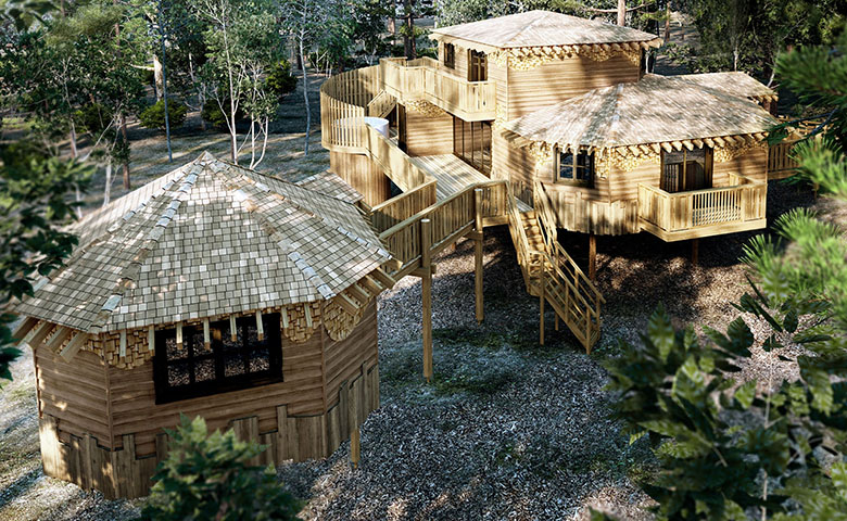 Center Parcs Treehouses