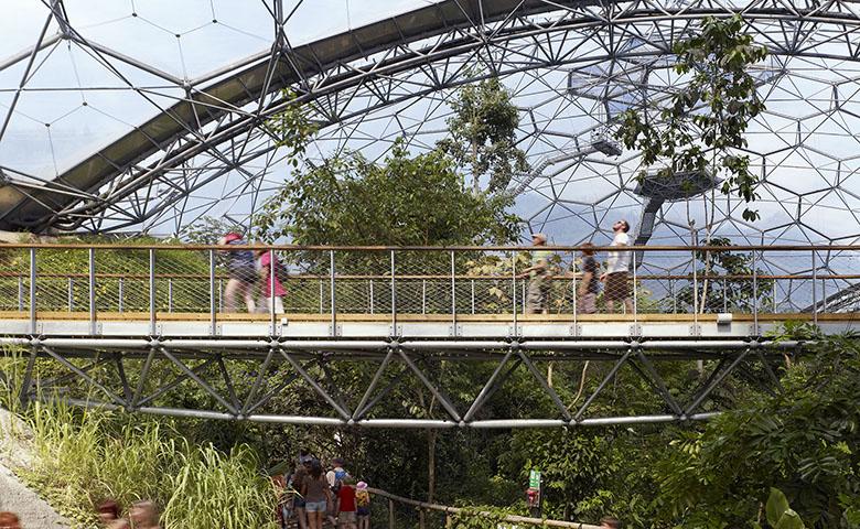 Eden Project Aerial Walkway