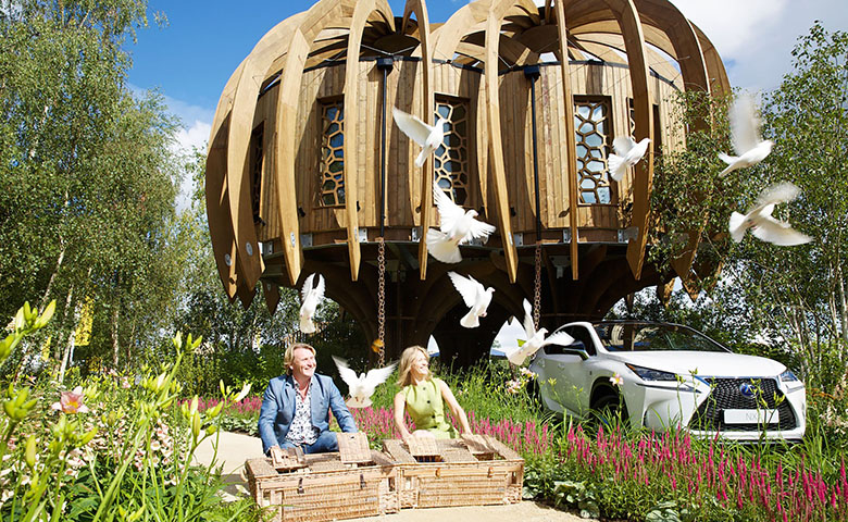 The Quiet Mark Treehouse & Garden by John Lewis