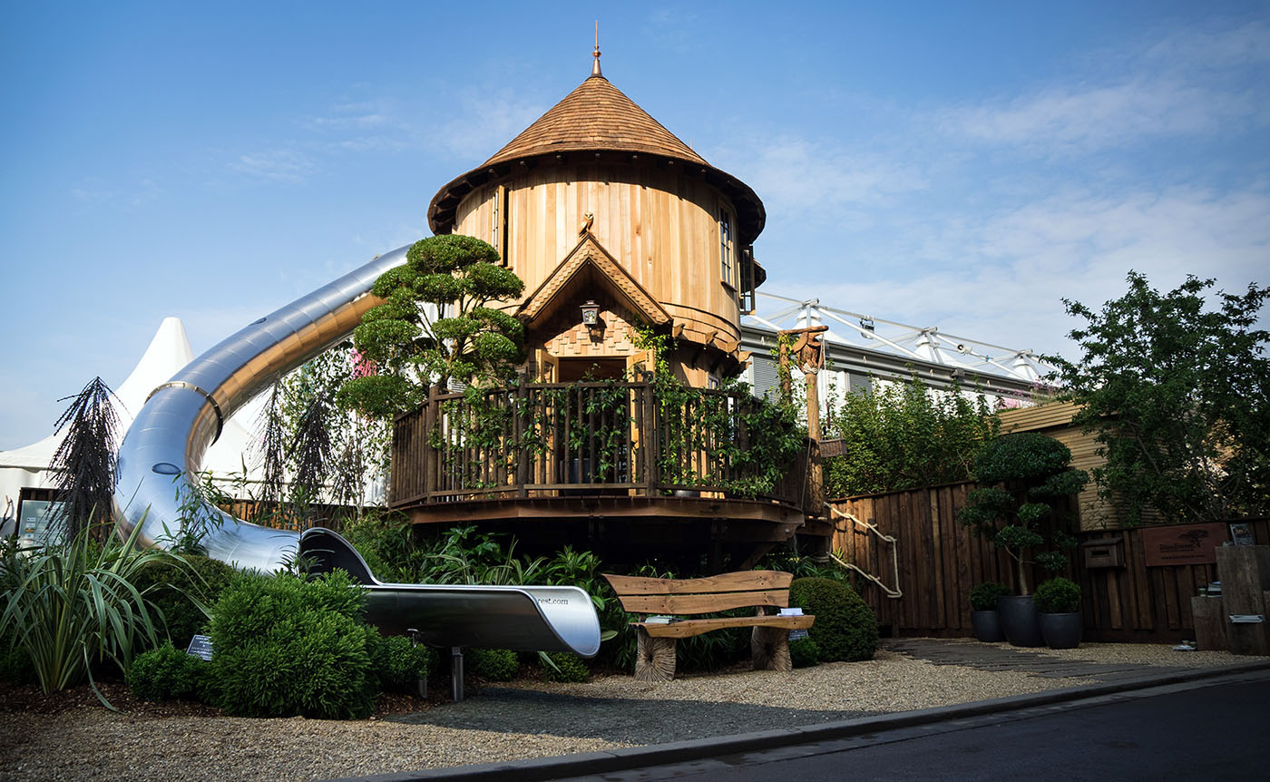 The RHS Chelsea Flower Show Treehouse 2018