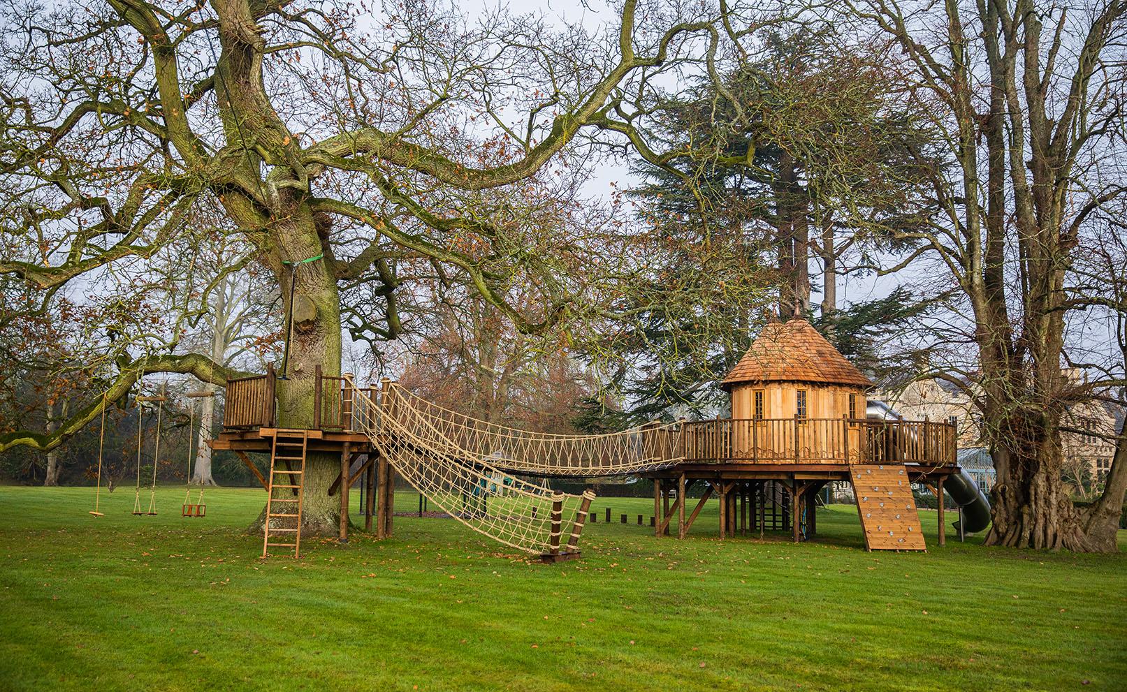 The Enchanted Garden Treehouse